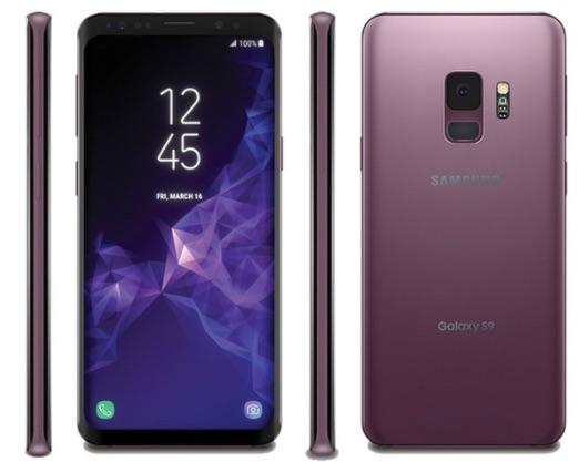 Galaxy S9 デザインや大きさ