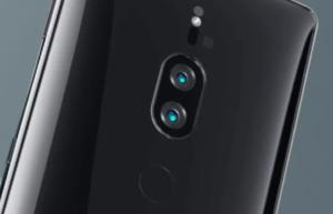 Xperia_XZ2_premiumの背面デザイン、デュアルカメラ、指紋認証