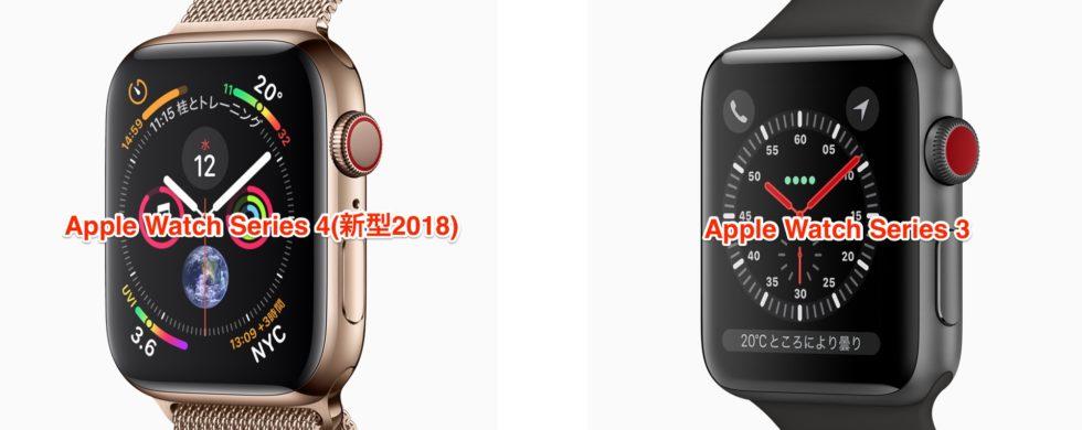 Apple_Watchのデザイン比較