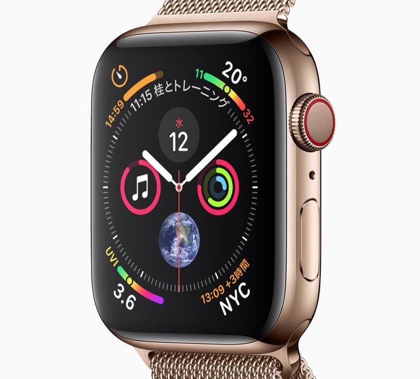 Apple Watch Series 4(新型2018)のデザイン