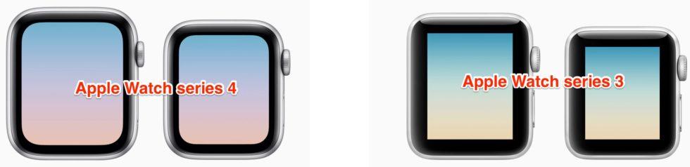 Apple Watchデザインのみ比較