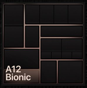 iPhoneXS(iPhone10S)では「A12 Bionicチップ」