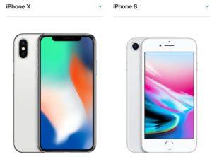 iPhone8とiPhone10_iPhone_X_のサイズ