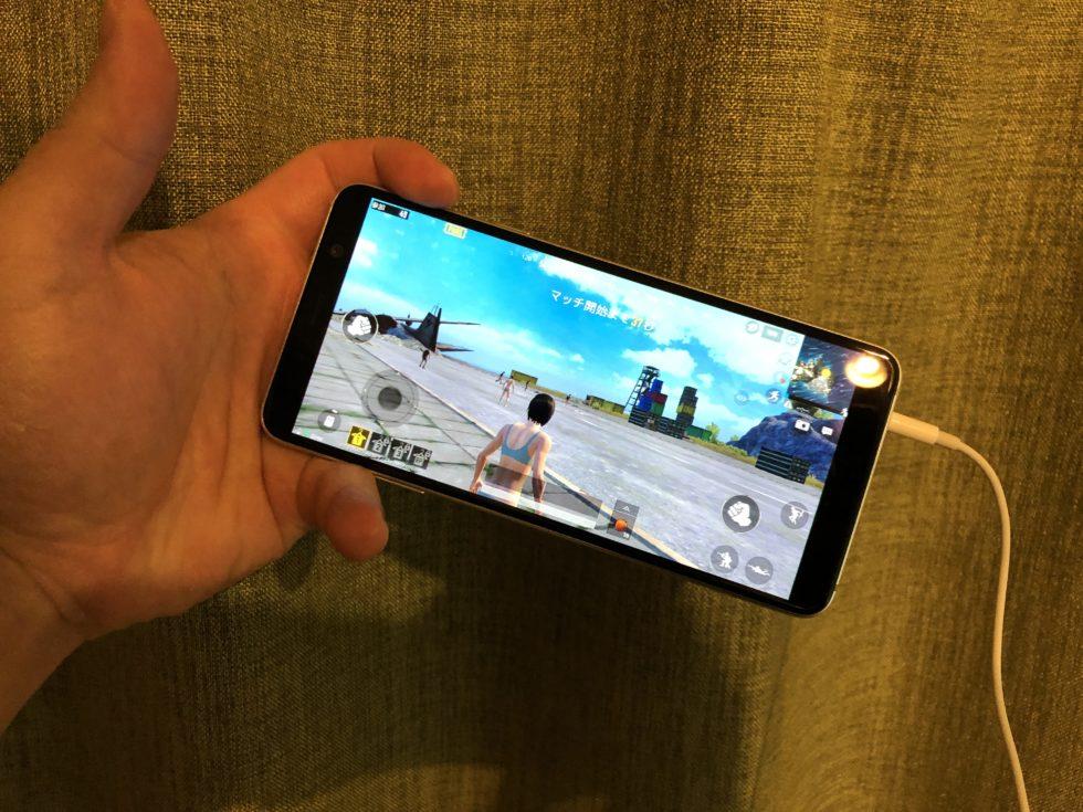 Galaxy Feel2(SC-02L)のゲーム画面
