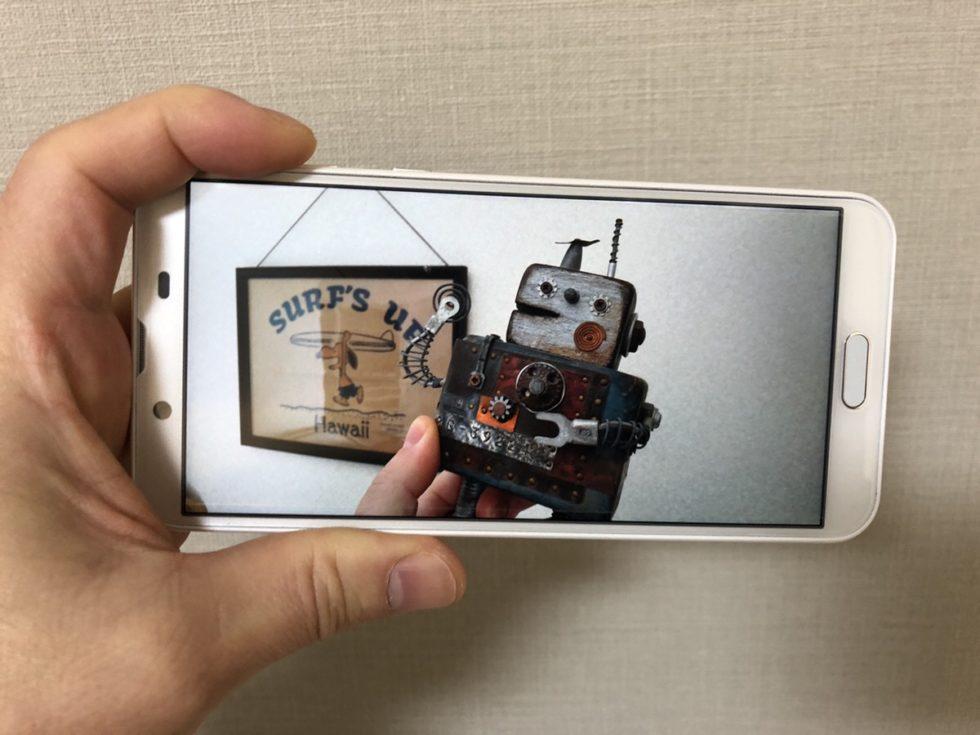 AQUOS sense2のカメラ画像