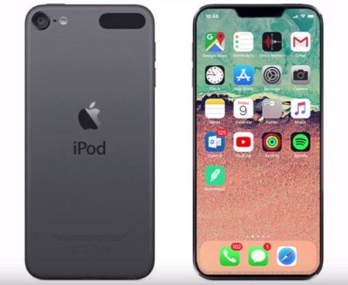 iPod touch第7世代・第6世代のデザインや大きさの比較