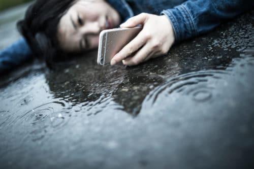 iPhone 7の耐水性能:雨の場合