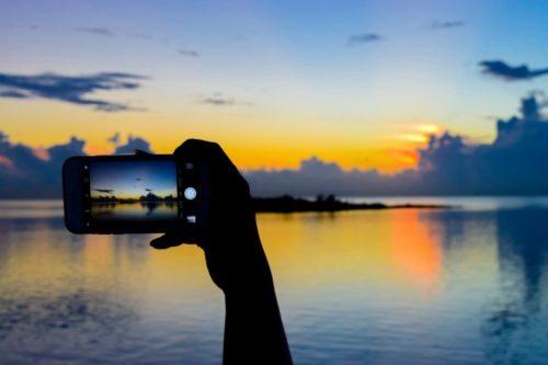 iPhone 7の耐水性能:海の場合