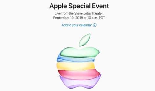 日本時間2019年9月11日(水)AM2:00からのAppleスペシャルイベント|ライブ中継の視聴はコチラ