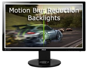 Motion Blur reductionによる疑似90Hz表示
