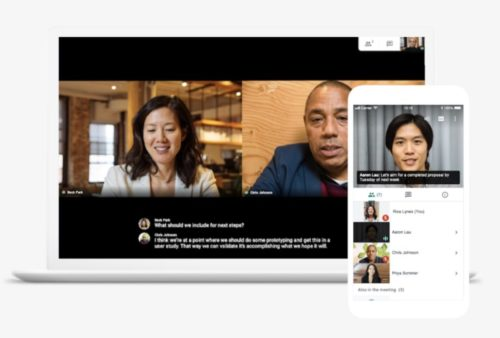 Hangouts Meetで利用できる端末|Macやスマホも利用できる?