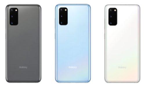 Galaxy S20|S20+ 5Gのカラー