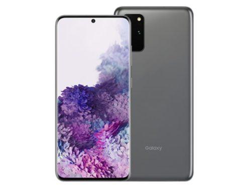 Galaxy S20|S20+ 5Gのデザインや大きさ