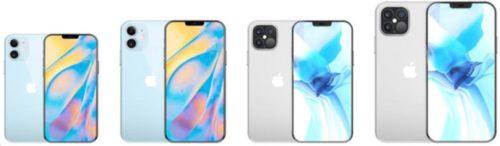 新型iPhone12ディスプレイ比較